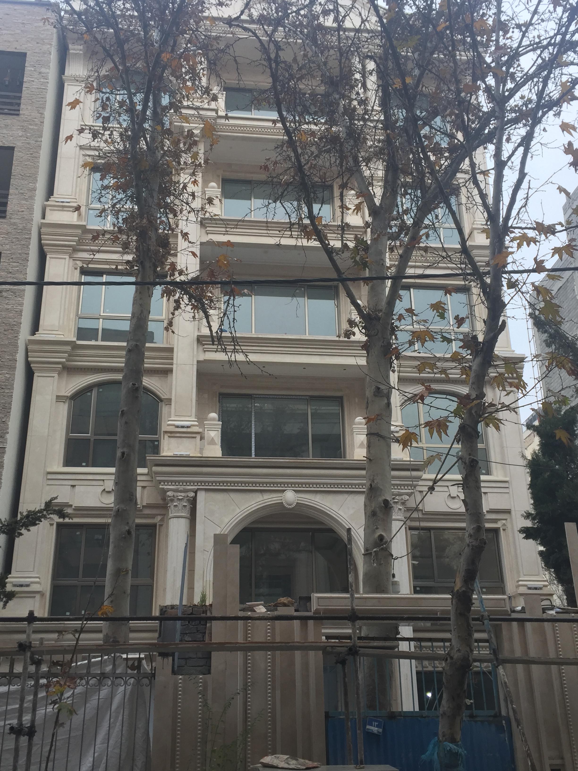 پروژه ساختمانی پاسداران گلستان